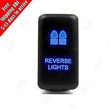 LED Blue Reverse Light Push switch Laser DRIVING LIGHTS For Toyota Landcruiser
