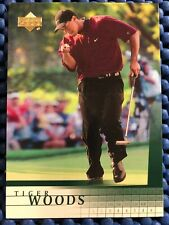 TIGER WOODS 2001 Upper Deck Golf #1 RC Rookie Issue Gem Mint