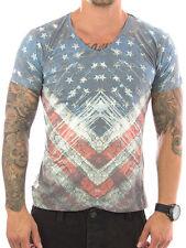 Figurbetonte Rusty Neal Kurzarm Herren-T-Shirts