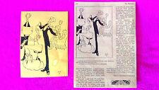 DIBUIX ORIGINAL MUSICAL DE LOLA ANGLADA. 20X13. ADJUN FACSIMIL DEL PATUFET 1933