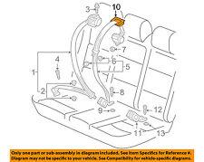 VW VOLKSWAGEN OEM 10-14 Jetta Rear Seat Belt-Seat Belt Guide 3C0857781B95T