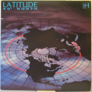 LATITUDE 40 Degrees North LP New Age/Electronic (Synths & Guitars) °