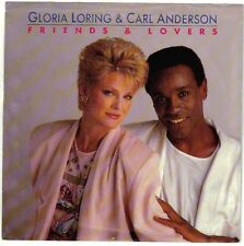 ANDERSON, Carl; & Gloria Loring  (Friends And Lovers)  USA Carrere ZS4 06122 +PS
