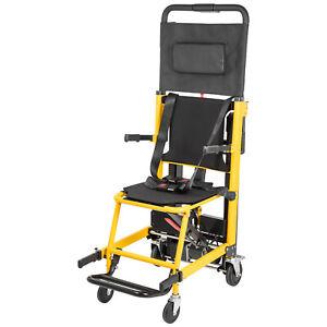 Elderly Stair Lifting Chair Motorized Climbing Wheelchair Stair Chair Elevator