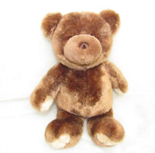 HTF GUND TEDDY BEAR BROWN STITCHED NOSE CREAM TOES AND PAWS
