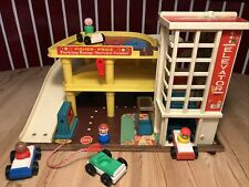 Fisher Price Garage 🚘 Parkhaus 930 🚙 Play Family 💚 Vintage 💙