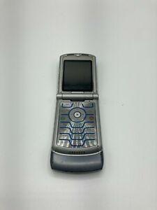 Motorola RAZR V3c - Grey (Verizon) Cellular Phone - For Parts