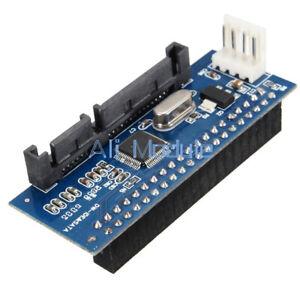 40 Pin IDE Female To SATA 22Pin Male Adapter ATA To Serial SATA Card Converter