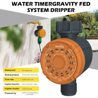 Water Timer Automatic Electronic Garden Plant Watering Irrigation Control