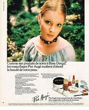 PUBLICITE ADVERTISING 074  1976  PIER AUGE   cosmétiques