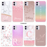 PERSONALISED MARBLE NAME COVER SILICONE PHONE CASE FOR IPHONE 11 SE 7 8 X XR