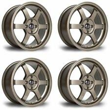 4 x Rota Grid Bronze Alloy Wheels 16x7 Inch ET40 4x100 PCD 67.1mm Centre Bore