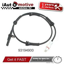 VAUXHALL VIVARO / RENAULT TRAFFIC REAR ABS WHEEL SPEED SENSOR 93194900 OPEL