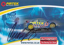 Andrew Jordan Hand Signed Touring Cars Promo Card.