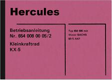 Hercules KX-5 Bedienungsanleitung Betriebsanleitung Handbuch KX5 KX 5 Manual
