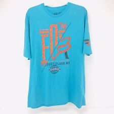 FOX Racing Relentless Innovation Product Class MX T Shirt Mens Size XL Blue
