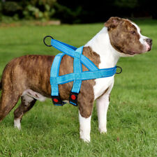 No Pull Dog Vest Harness Front Clip with Handle Neoprene Reflective Medium Large