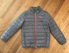 The North Face Jacket (Boys Large 14/16) Gray Orange Euc