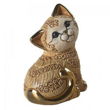 Rinconada Cat Figurine - Ginger Sitting Kitten 2018