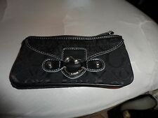 XOXO black clutch wallet