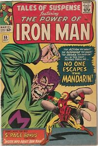 Tales Of Suspense Featuring Iron Man # 55 Marvel VG 1964 3rd App of The Mandarin