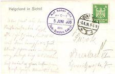 Schiffspost für Sammler aus dem deutschen Reich