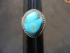 vintage native american sterling silver turquoise ring  turquoise rings