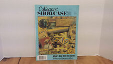Collectors Showcase Apr. 1990 antique toys games dolls Disney Mickey Mouse