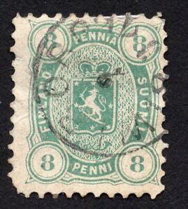 Finland 1875 stamp Mi#14Ayb used CV=108$