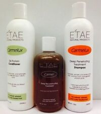 E'TAE Carmelux Shampoo & Conditioner ,carmel Treatment Natural Product Set sale!