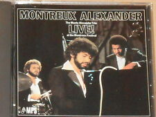 MONTREUX ALEXANDER / THE MONTY ALEXANDER TRIO -Live! At The Montreux...- CD