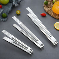 Portable Stainless Steel Kitchen Barbecue BBQ Meat Tongs Salad Steak Food Clips