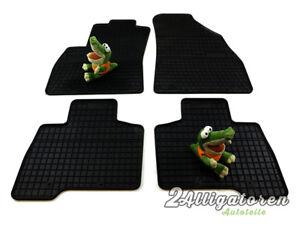 4 x Gummi-Fußmatten ☔ für FIAT Fiorinio III seitdem 2007