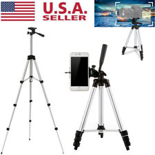 Professional Camera Tripod Stand Holder Mount for iPhone Samsung Cell Phone+Bag