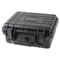 "10"" Marine Weatherproof Dry Box Case Iphone Camera Gun W Pelican 1200 Style Foam"