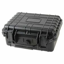 "10"" Marine Weatherproof Dry Box Case Iphone Camera Gun W Pelican 1200 Pluck Foam"