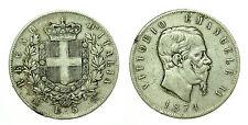 pcc1633_4) Regno Vittorio Emanuele II lire 5 scudo 1874
