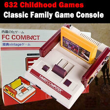 Retro Gaming 632 Games Family Console * Play Childhood 8 Bit 80s Computer game