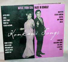 CD konkani canzoni-Music from Goa made in Bombay