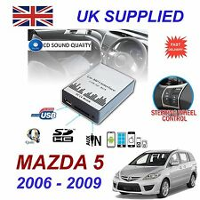 For MAZDA 5 2006 -09 MP3 SD USB CD AUX Input Audio Digital CD Changer Module