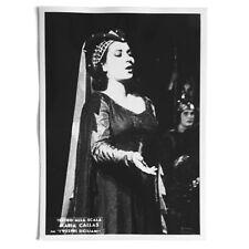 Maria Callas rare original photo, I vespri siciliani, Scala