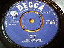 """THE TORNADOS - ROBOT  7"""" VINYL"""