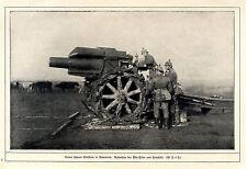 Unsere schwere Artillerie in Rumänien c.1917