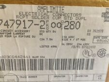 TE Connectivity / Amp 5-747917-2 D Sub Connector, Standard, 37 Pos,  Lot of 56