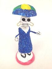 DAY OF THE DEAD  SKELETON  FIGURE OF CATRINA -   MEXICO