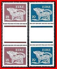 IRELAND 1981 ANCIENT DOG SC#470-71 gutter PAIRS MNH  (D1)