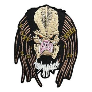 Predator Alien Movie Arnold Predator Iron on Sew on Patch (MPR8)