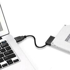 USB to 7+6 13 Pin Slim SATA/IDE CD DVD Rom Optical L8R4 Drive NEW Adapter H5M7