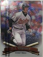 1998 Topps Finest BJ Surhoff #235 With Peel MLB Baseball Card Baltimore Orioles