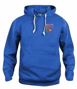 Queens Park Rangers QPR 1953 Retro Football Hoodie Embroidered Crest S-XXXL